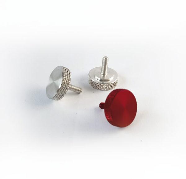 Tornillos de pulgar de aluminio (thumbscrew)